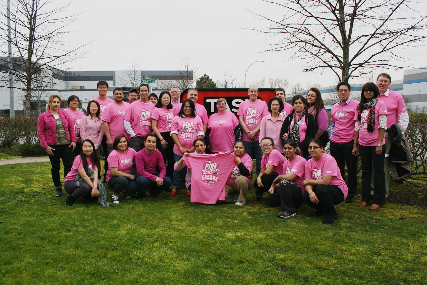 Pink Shirt Day 2015