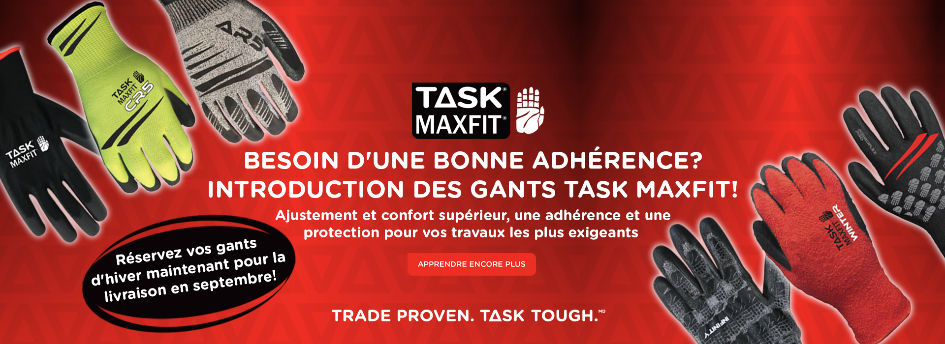 Task Maxfit Gloves