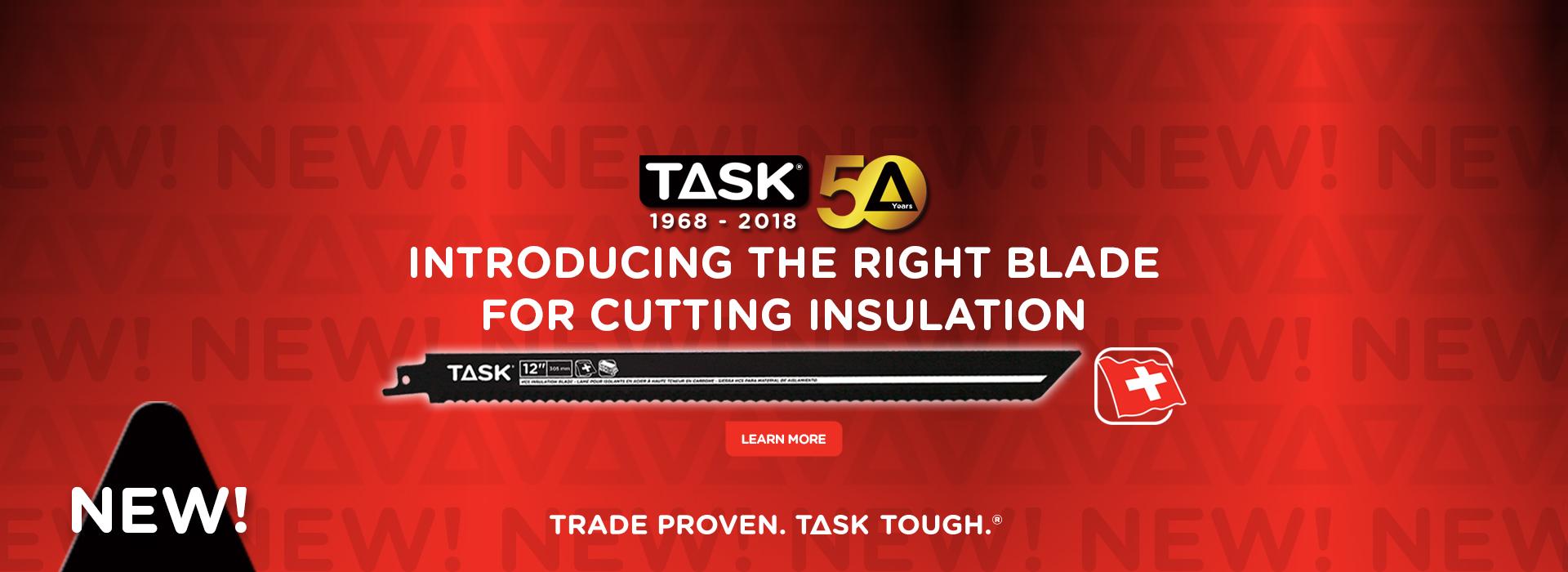 Insulation Blade