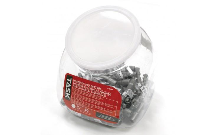 """1/4"""" Magnetic Nut Setter - 50/Jar"""