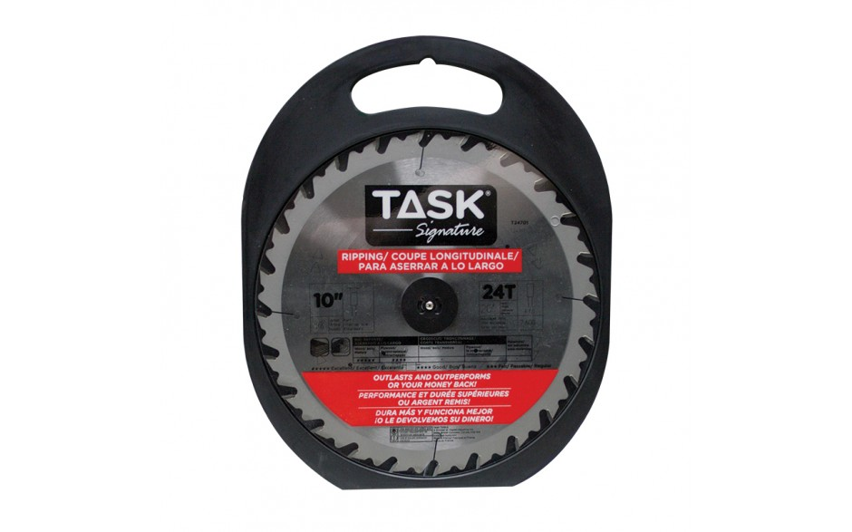 """10"""" 24T ATB Ripping Blade - 1/pack"""