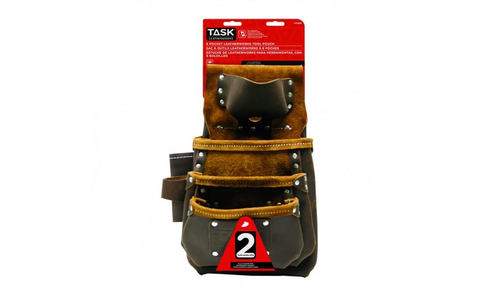 Master Carpenter 6 Pocket Tool Bag with Tape Measure Holder - 1/pack