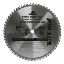 "10"" 60T ATB Fine Finishing Blade - Bulk"