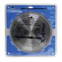 "12"" 80T ATB Fine Finishing Blade - 1/pack"