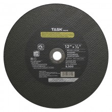 "12"" x 1/8"" 1"" Arbor Double Reinforced Masonry Cutting Wheel - Bulk"