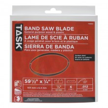 "59-1/2"" 1/4"" 6 TPI Band Saw Blade - 1/pack"
