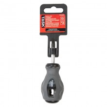 """#2 Phillips 1-1/2"""" Stubby Soft Grip Screwdriver - 1/pack"""