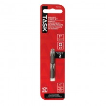 "#2 PH 1"" Screwdriver Bit - 2/pack"