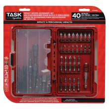 40pc IMPACT Driver Accessory Set - Plastic Case