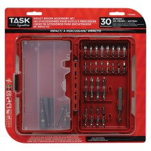 30pc IMPACT Driver Accessory Set - Plastic Case