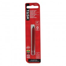 """#2 Robertson® 3"""" Red Two-Piece Screwdriver Bit - 1/pack"""