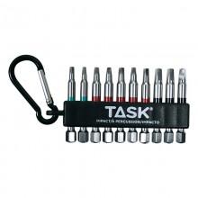 10pc Mixed Robertson® IMPACT Carabiner Clip - Bulk