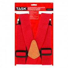 Partial Elastic Red Suspenders - 1/pack