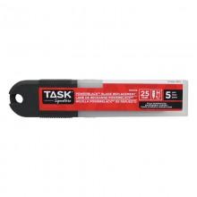 25 mm PowerBlack Snap-Off Blades - 5/pack