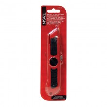 Metal Trapezoid Blade Knife with Rubber Grip - 1/pack