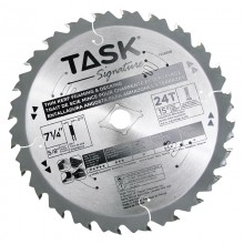 "7-1/4"" 24T HG Hollow Ground Framing & Decking Blade - Bulk"