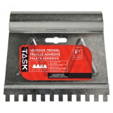 "6"" (3/16"" x 1/8"" x 1/8"") V-Notch Adhesive Spreader"
