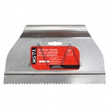 "9"" (1/8"" x 1/8"" x 1/8"") V-Notch Adhesive Spreader"