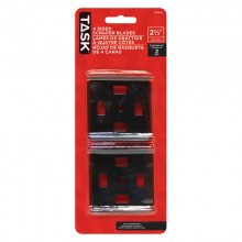 """2-1/2"""" Replacement 4-sided Scraper Blades - 2/pack"""