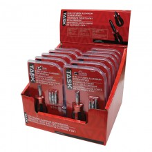 8-in-1 Stubby Screwdriver with Aluminum Handle - 12 per Display Box