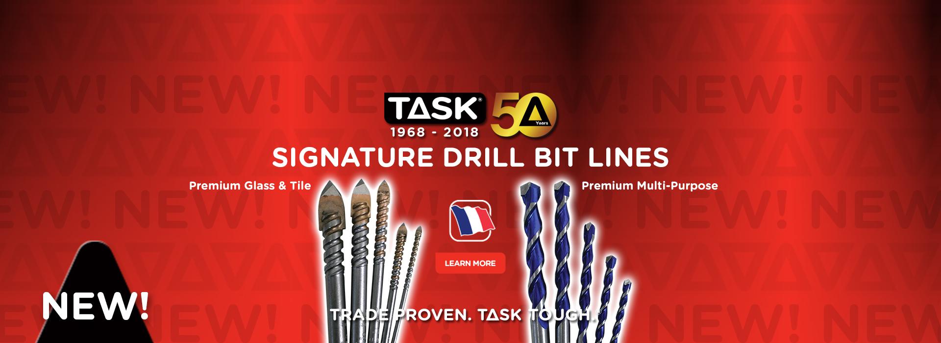 Premium Glass Tile & Multipurpose Drill Bits