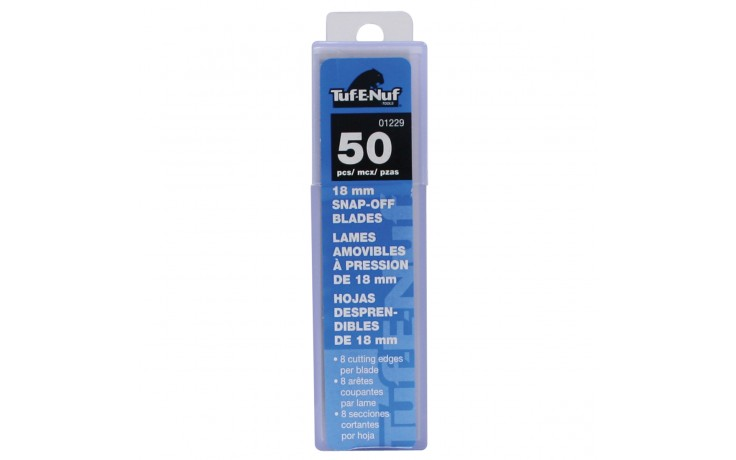 18 mm Snap-Off Blades - 50/pack