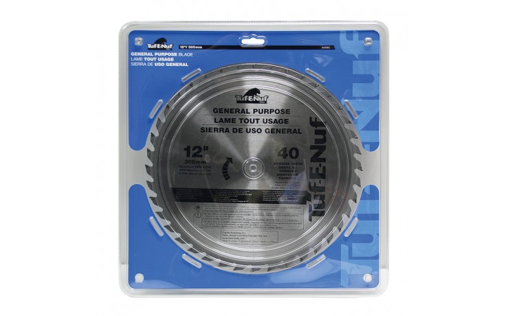"""12"""" 40T ATB Ripping Blade - 1/pack"""