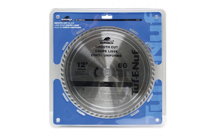 "12"" 60T ATB Ripping & Cross-Cutting Blade - 1/pack"