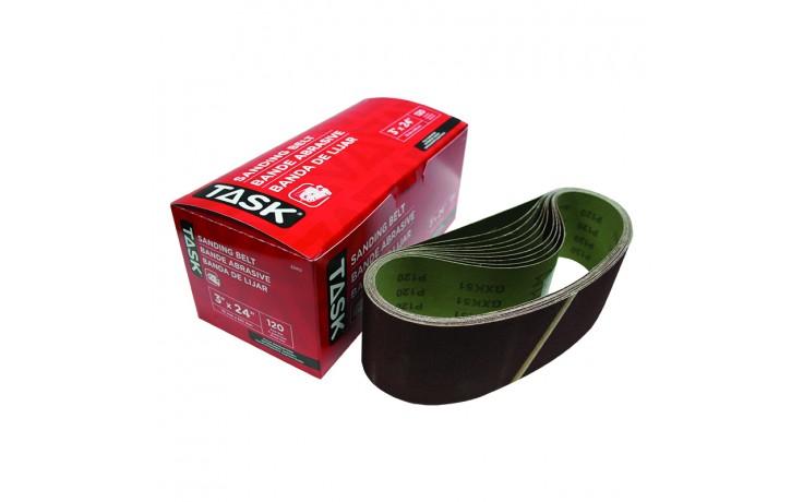 "3"" x 24"" 120 Grit Sanding Belt - Boxed"