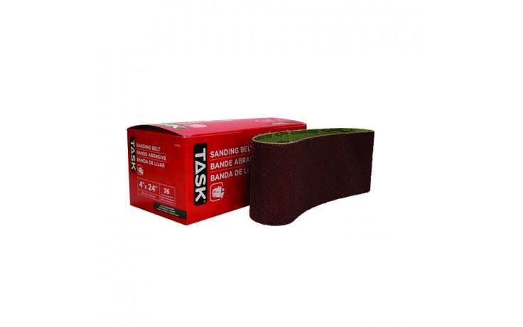 "4"" x 24"" 36 Grit Sanding Belt - Boxed"