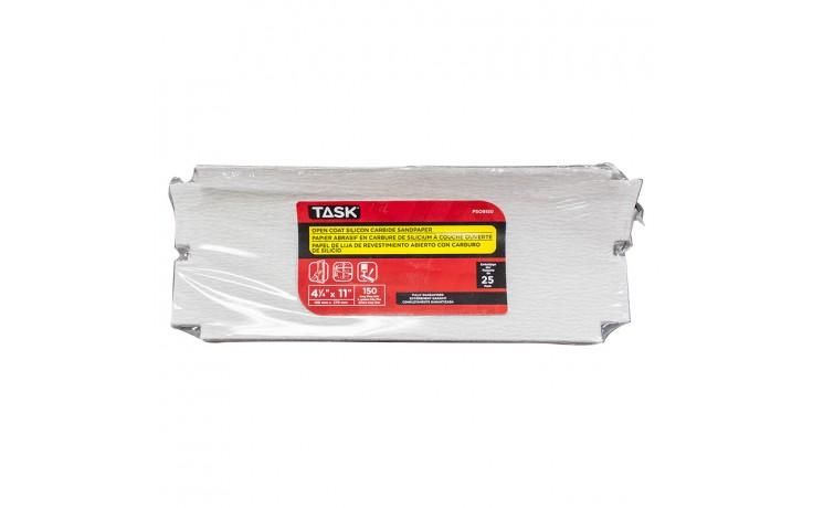 """4-1/4"""" x 11"""" 150 Grit Very Fine Drywall Sandpaper - Bulk"""