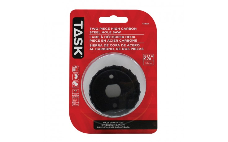 """2-1/8"""" Carbon Steel Hole Saw - 1/pack"""