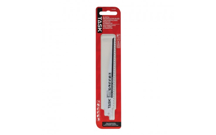 """6"""" 6 TPI 0.050"""" Reciprocating Blade for Nailed Wood & Plastic - Fast - 1/pack"""