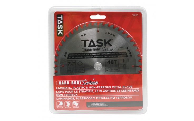 "7-1/4"" 48T TCG Hard Body Laminate, Plastic & Non-Ferrous Metal Blade - 1/pack"