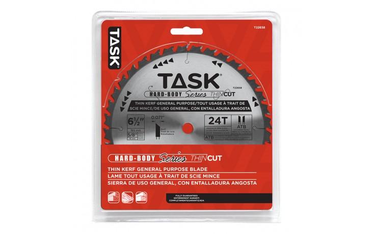 """6-1/2"""" 24T ATB Hardbody Thin Kerf General Purpose Blade - 1/pack"""