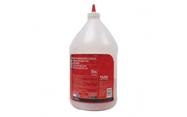 5 lb. (2.27 kg) Red Powdered Chalk