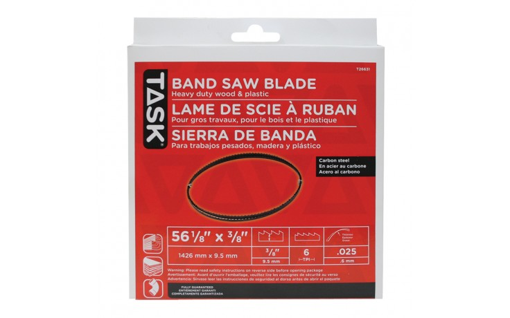 "56-1/8"" 3/8"" 6 TPI Band Saw Blade - 1/pack"