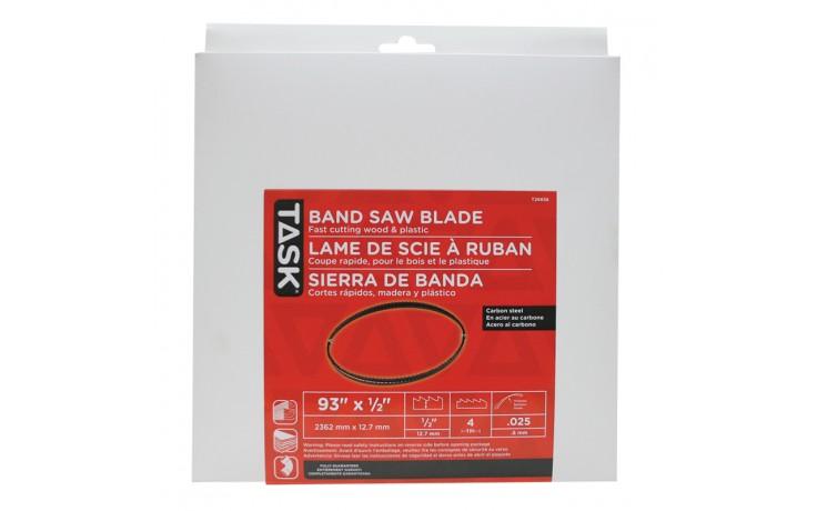 "93"" 1/2"" 4 TPI Band Saw Blade - 1/pack"