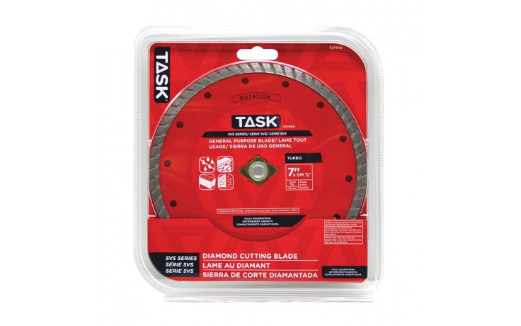 "7"" Turbo SVS Diamond Blade - 1/pack"