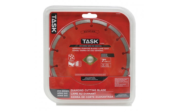 "7"" Segmented SVS Diamond Blade - 1/pack"