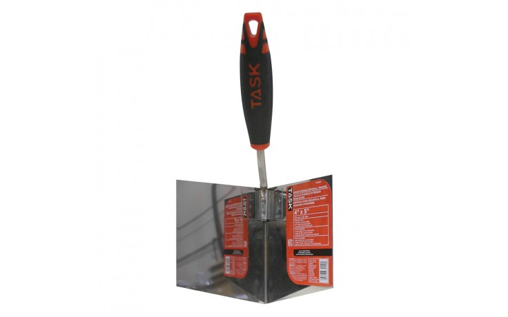 "4"" Inside Drywall Corner Trowel with FlexFit Grip"