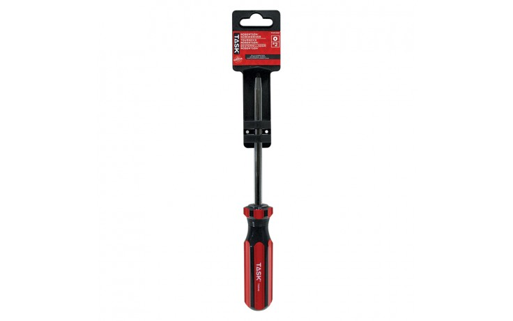 "#2 Robertson® 5"" Acetate Hard Grip Screwdriver - 1/pack"