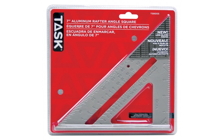 Aluminum Triangular Rafter Square - 1/pack
