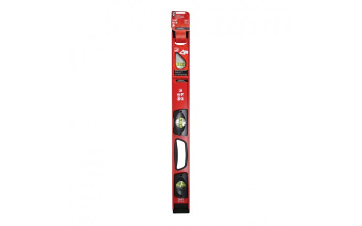 """24"""" Heavy Duty Magnetic I-Beam Level with PlumbSite"""