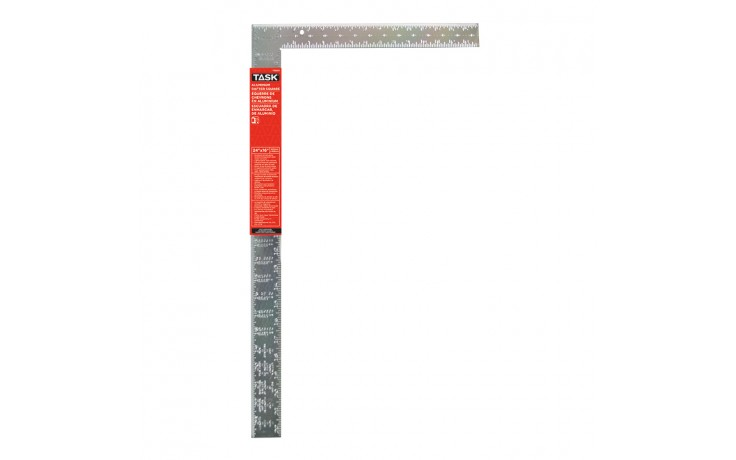 "24"" Aluminum Rafter Square (Embossed Markings)"