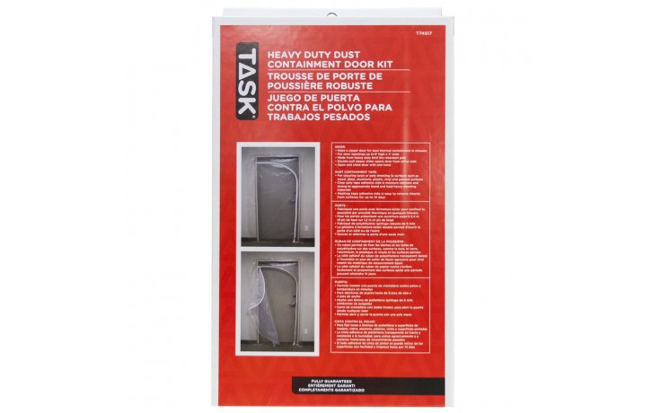 Qsr Heavy Duty Dust Containment Door Kit Box