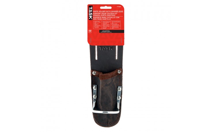 Tradesperson Utility Knife Holder with Hammer Ring - 1/pack