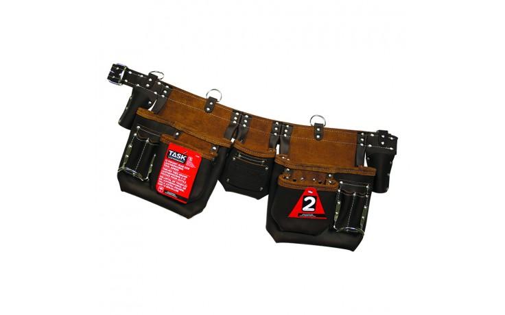 Brown 12 Pocket Master Carpenter PLUS Apron - 1/pack