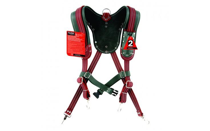 Green & Burgundy Suspender Harnesses - 1/pack