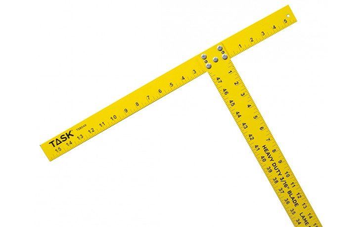 "48"" 3/16"" Heavy Duty Aluminum T-Square"